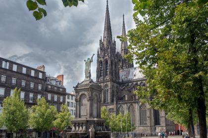 photo du centre de Clermont Ferrand