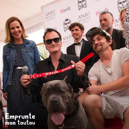 la Palm Dog, cérémonie organisée par l'agence d'influenceurs YLG
